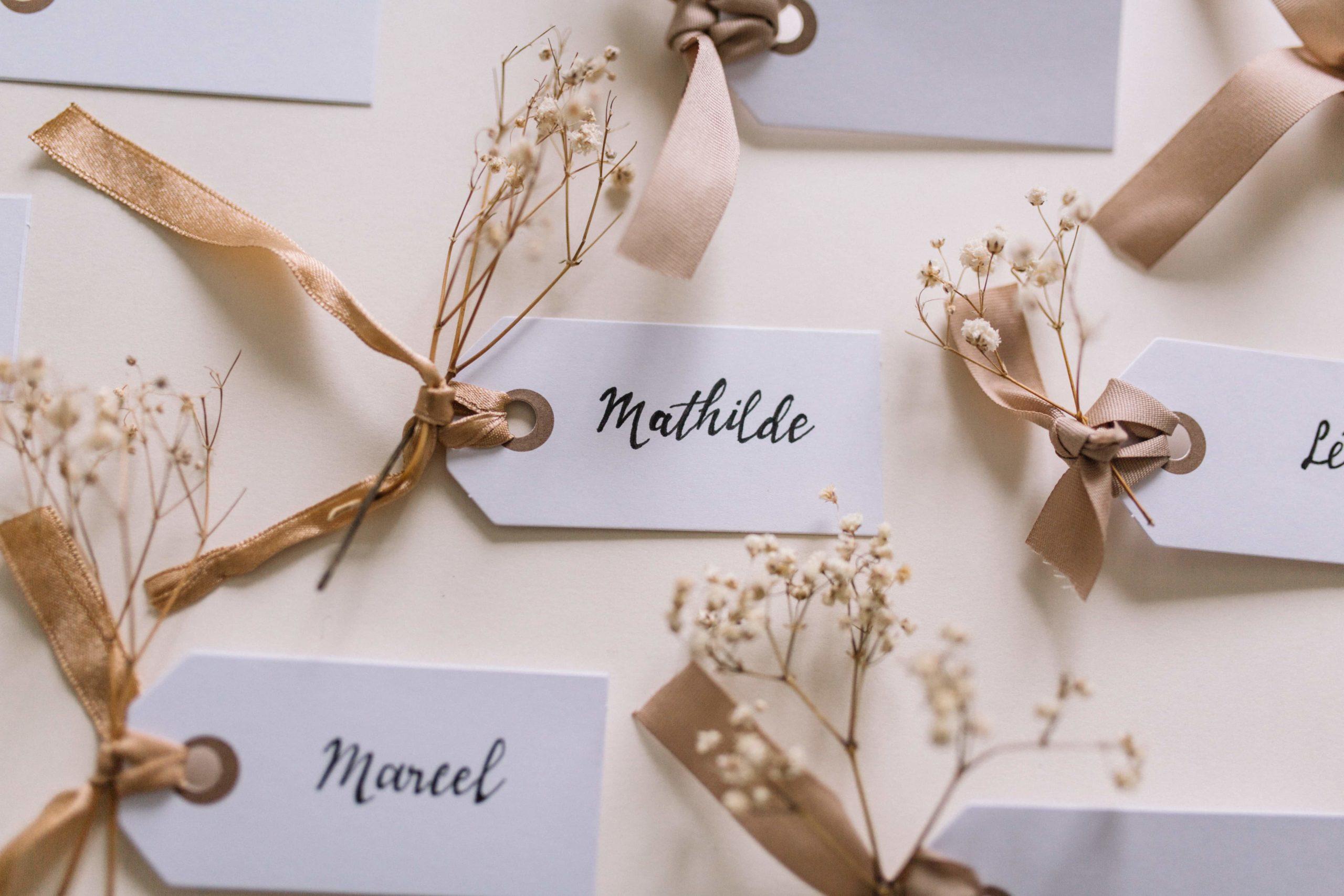 DIY-personnalisé-marque-place-mariage